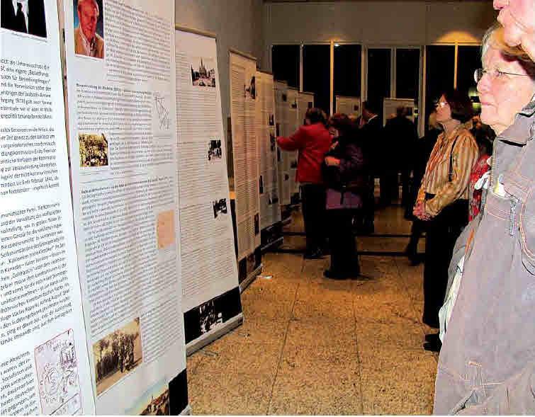 Eine Ausstellung, die nicht nur umfassend informiert, sondern auch betroffen macht (Bild: LandesZeitung)